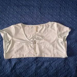 Tops - Soft light blue blouse